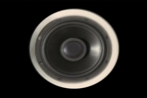 Sound Speaker Bad Pixels Stock Video Footage
