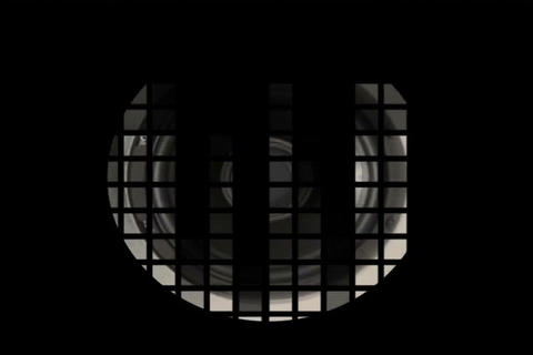 Sound Speaker & VU Meter Shadow Stock Video Footage