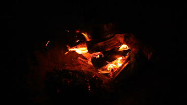 Bonfire Flame Stock Video Footage