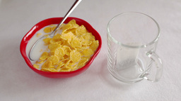 Healthy Breakfast Stock Video Footage