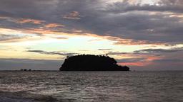 Sunset Over Andaman Sea Stock Video Footage