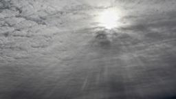 Winter Sun Stock Video Footage
