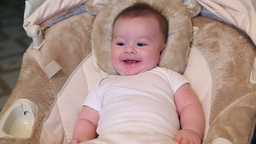 Baby Laughing Stock Video Footage