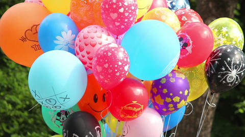 Balloons 1 Stock Video Footage