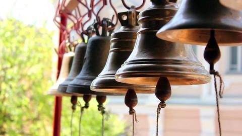 Church bells 4 Stock Video Footage