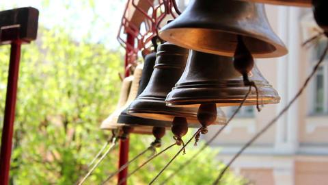 Church bells 16 Stock Video Footage