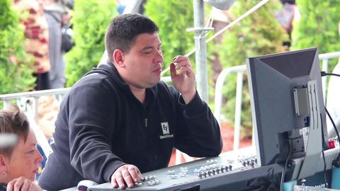 Soundman 1 Stock Video Footage