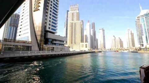 Bildings in Emirates 1 Stock Video Footage