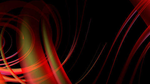 Red Transparent Helix stock footage