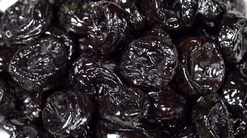 Dried Prunes SS HD stock footage