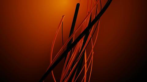 orange backlights vines Animation