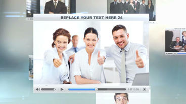 Corporate Business stock footage