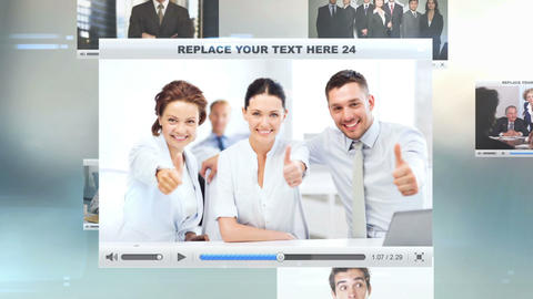 Corporate Business After Effects Template