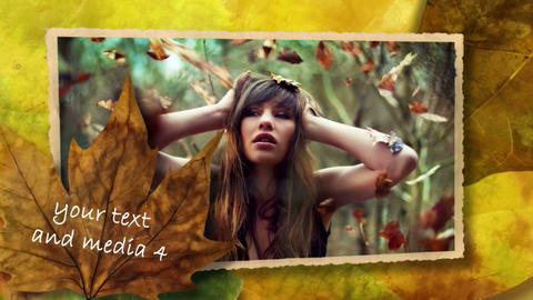AUTUMN After Effects Template