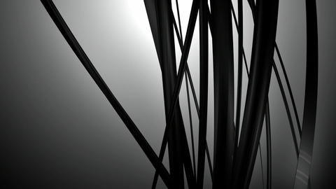 black vine reflection Animation