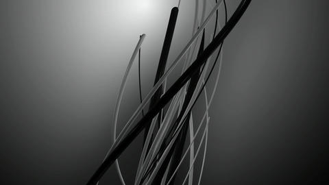 monochrome backlights vines Animation
