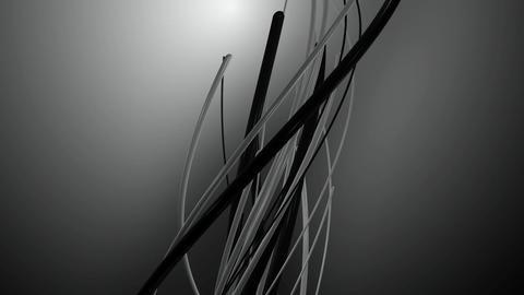 monochrome backlights vines Animation