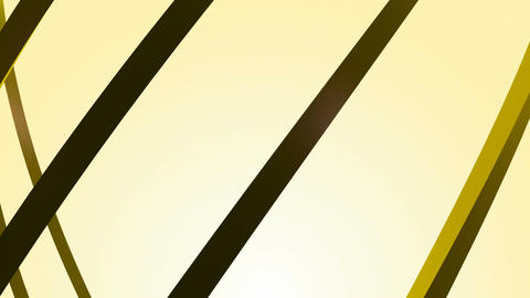 Curve Yellow Lines stock footage