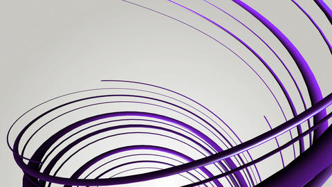 purple strings helix Animation