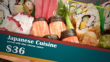 Menu Restaurant Slideshow 애프터 이펙트 템플릿