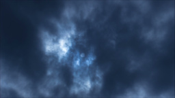 Sun And Clouds stock footage