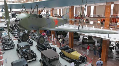 Panorama Museum. Pyshma, Ekaterinburg, Russia. 4K stock footage