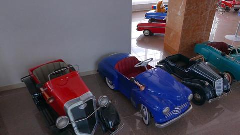 Toy cars. Pyshma, Ekaterinburg, Russia Footage