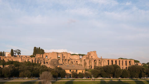 Ruins of the Palatine Hill is the centermost of the Seven…, Live Action