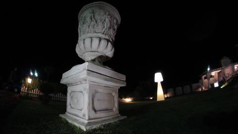 Statue sculpture garden Footage