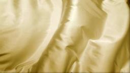 流れるゴールドの布 Footage