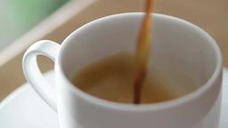 白いコーヒーカップ Footage