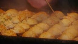 たこ焼きの調理 Footage