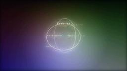 光ながら回転するスローガン Footage