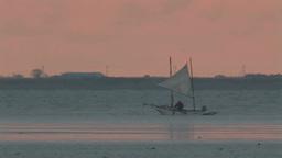 打瀬船の北海シマエビ漁 Footage