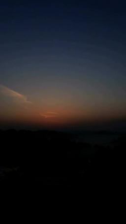 星峠の棚田と朝霧,夜明と日の出 Footage