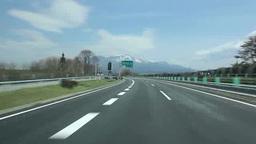中央自動車道と八ケ岳 Footage
