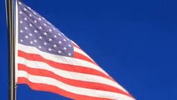 アメリカ国旗 Footage