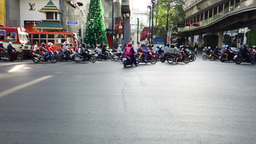 Bangkok busy traffic Footage
