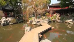 会景楼と庭園と池 Footage