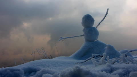 Winter landscape 3 Stock Video Footage