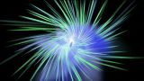 rotation ray light in space,The birth of stars,explosion,flow turbine and fiber  Animation