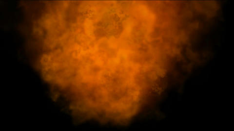 burning Fire and smoke in universe,military and war…, Stock Animation