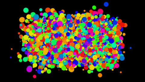 bubble and blister array background,dancing dots and... Stock Video Footage