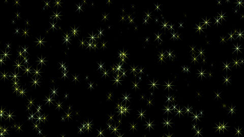 flare yellow stars,disco ray light,christmas and wedding... Stock Video Footage