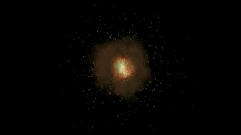 Fire,Explosion in space.Design,pattern,symbol,dream,vision,idea,creativity,vj,be Animation