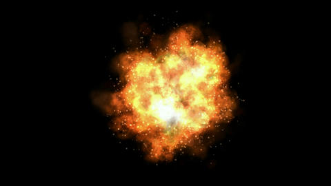 Fire,Explosion in... Stock Video Footage