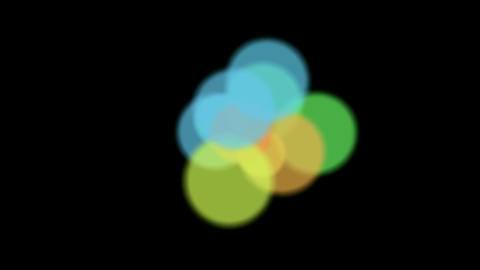 color circle pattern,motion disco background,christmas... Stock Video Footage