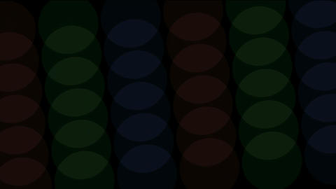 rotation oval array pattern Stock Video Footage