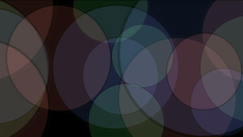 color circle slowly moving.Design,symbol,vision,idea,creativity,vj,beautiful,art Animation