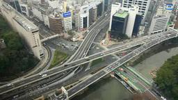 Akasaka-Mitsuke intersection Footage